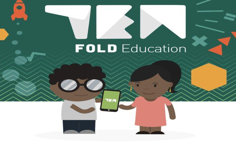 Ten Fold education/ Des cours de science disponibles sur mobile