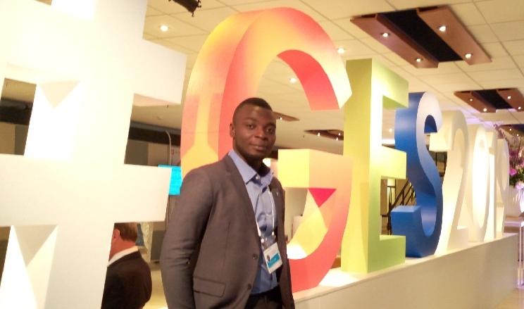 Sommet mondial de l'entrepreneuriat: Jean du christ Ali représente le Togo