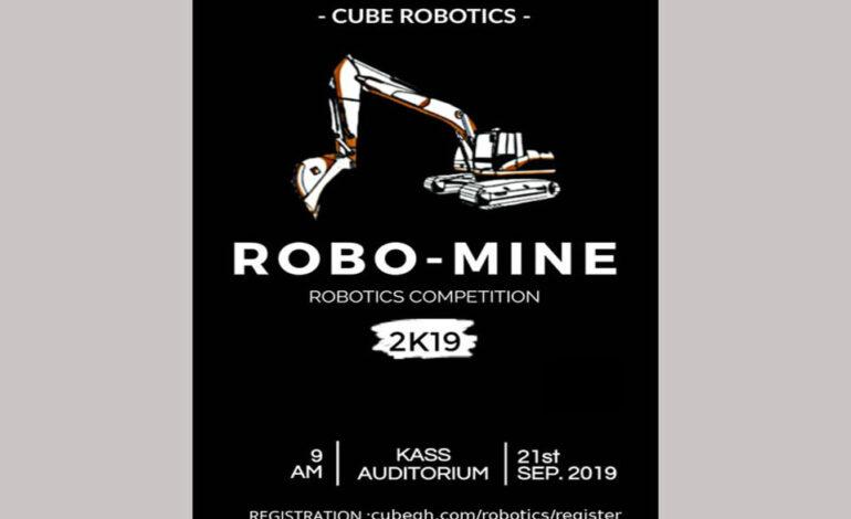 Ghana : Cube Robotics organise Robomine 2019