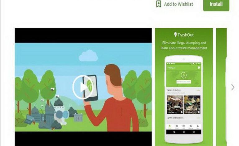 Clean Up Mauritius, une application  pour protéger l'environnement