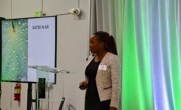 Kenya :  Beth Koigi transforme de l'air en eau potable