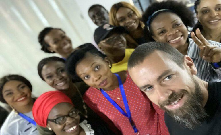 Jack Dorsey, le PDG de Twitter se rend au Nigeria pour la première fois