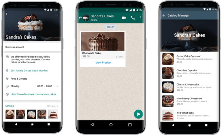 WhatsApp e-commerce, une nouvelle fonctionnalité mise à jour