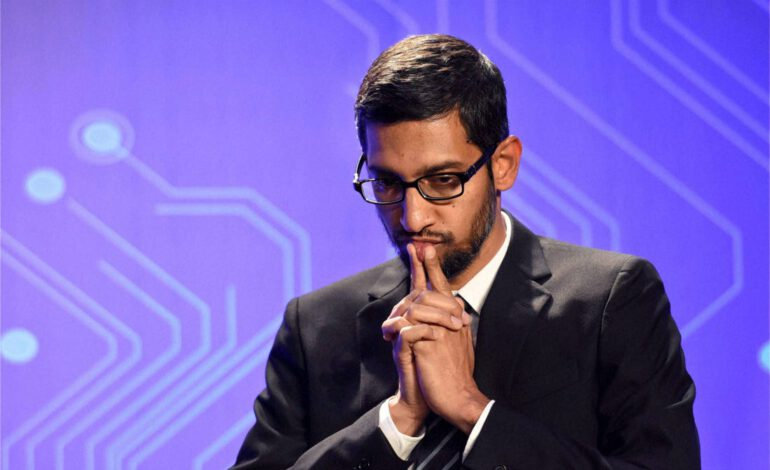 Sundar Pichai, nouveau patron de Alphabet, société mère de Google