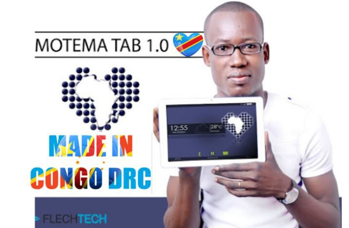 Motema, une tablette made in RDC