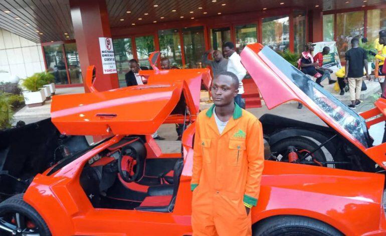 Nigeria : A 25 ans Jerry Mallo monte une voiture de sport
