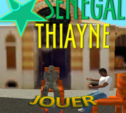 Ousmane William Kebe présente le jeu 'Sénégal Thiayne'