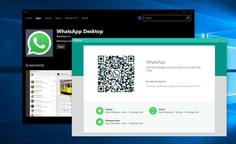 WhatsApp desktop : Faites une mise à jour rapide pour éviter un piratage