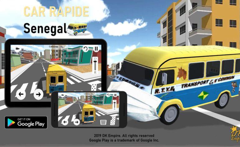 Ousmane William Kebe sort le jeu « Car Rapide Sénégal »