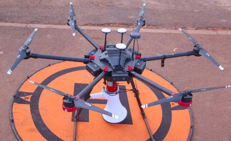 Covid-19 : Le Rwanda utilise des drones pour sensibiliser