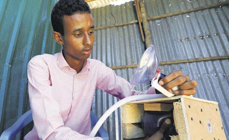 Somalie : un respirateur artificiel local pour sauver des vies