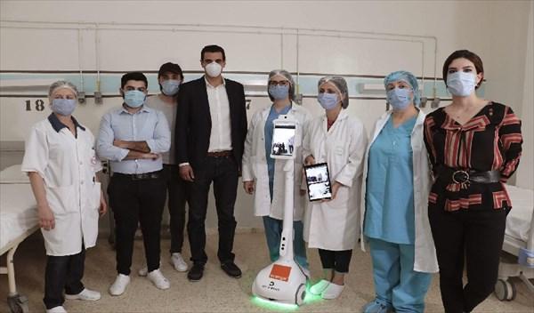 Covid 19/ Tunisie: Un robot au chevet des patients