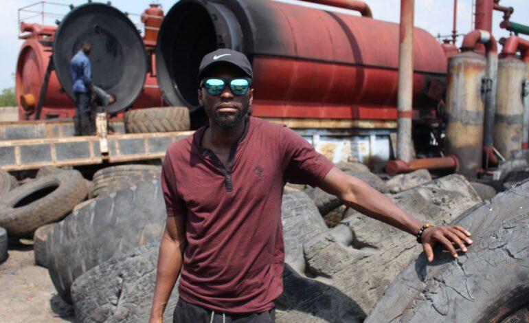 Ghana : Alchemy Alternative  Energy transforme les pneus en carburant
