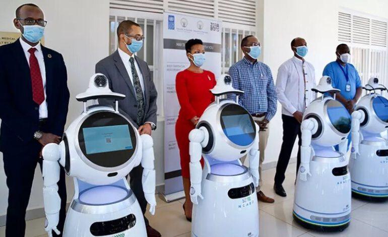 Coronavirus : Le Rwanda utilise des robots dans les hôpitaux