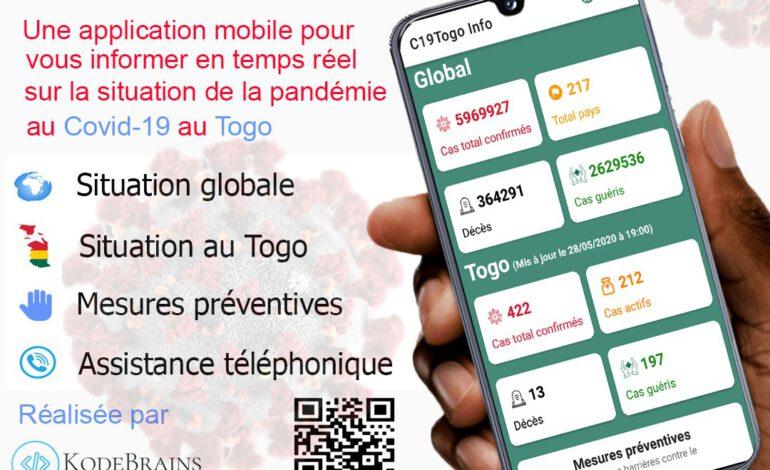 C19Togo Info, une application pour mieux s'informer