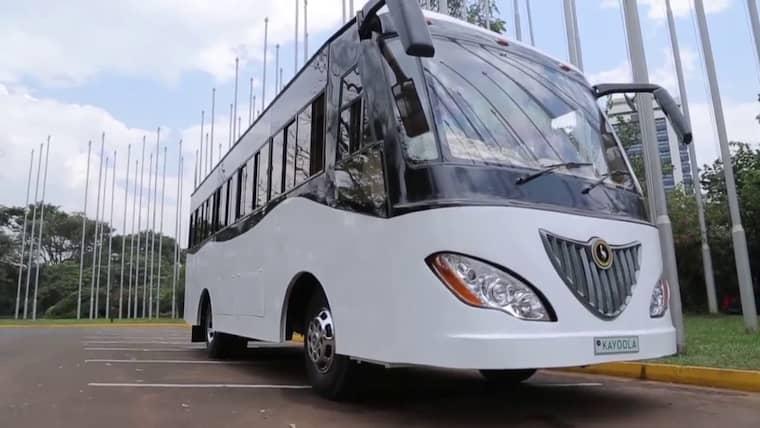 Ouganda : Des étudiants fabriquent un bus électrique