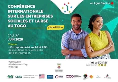 Conférence internationale sur les entreprises sociales et la RSE : la 3e édition se fera en ligne