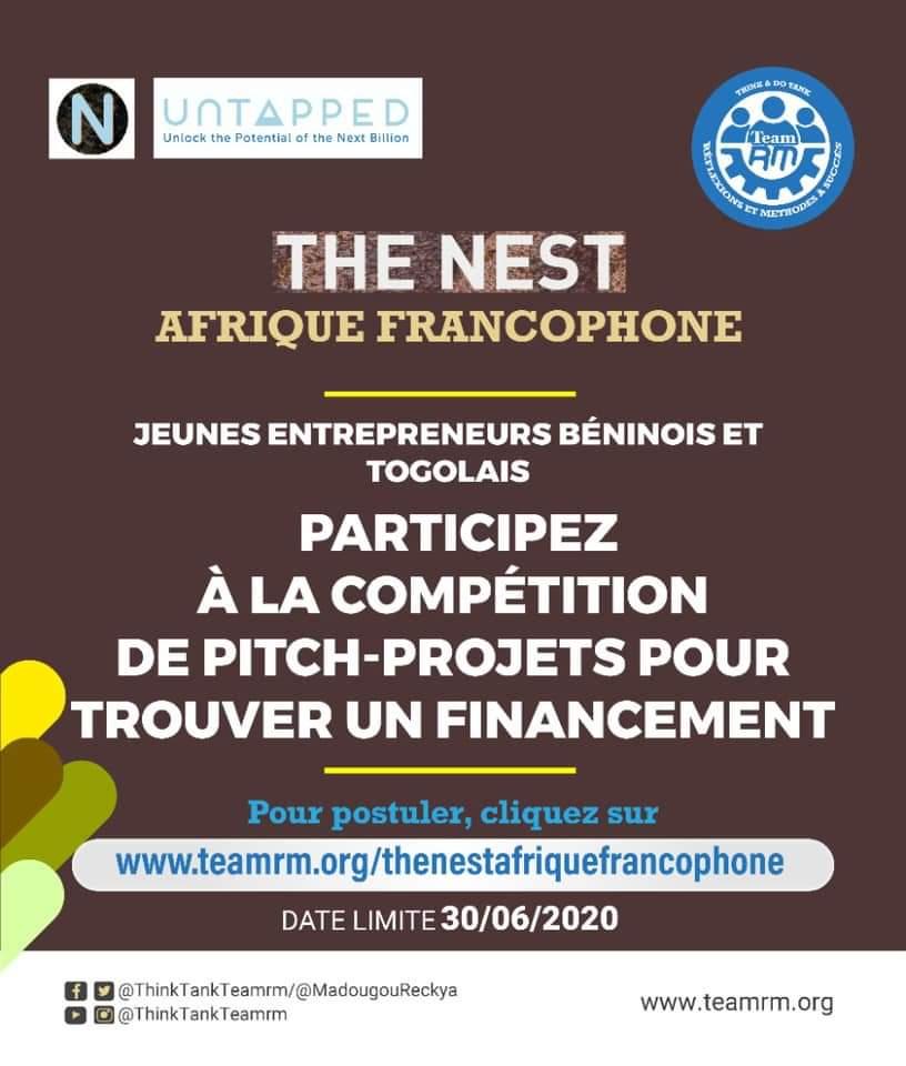 The Nest Afrique Francophone : une aubaine pour les startups togolaises et béninoises