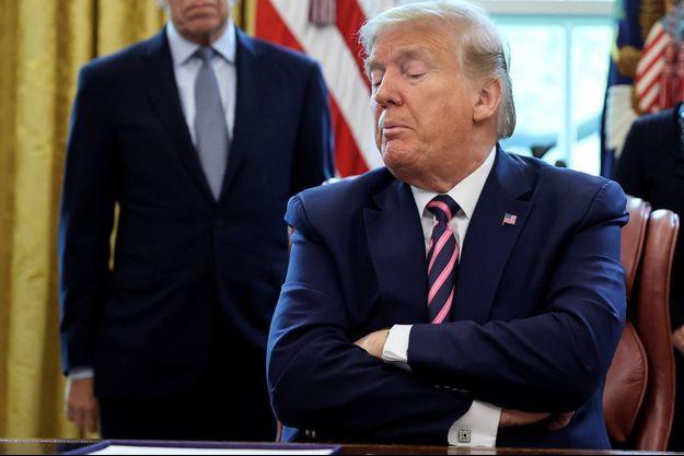 Donald Trump veut s'en prendre à Alibaba