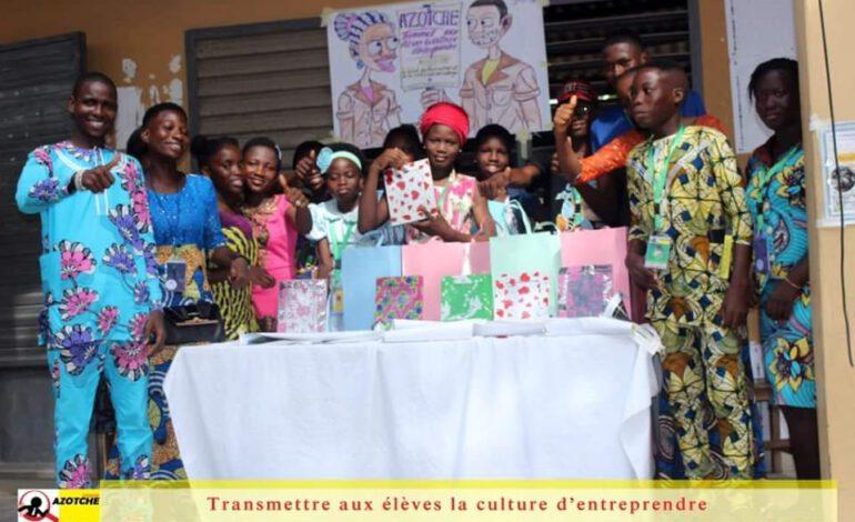 Bénin : AZOTCHE forme les élèves en entrepreneuriat