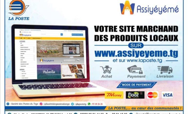 Togo: Assiyeyeme, le site marchand de la Poste