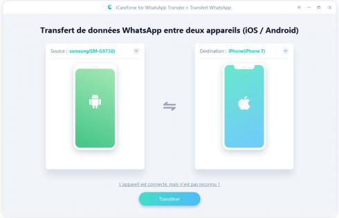 WhatsApp : transférer ses discussions d'iOS à Android est désormais possible