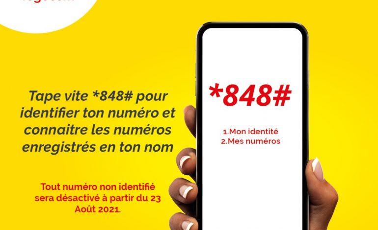 Togocom : Comment vérifier son identité et ses numéros enregistrés ?