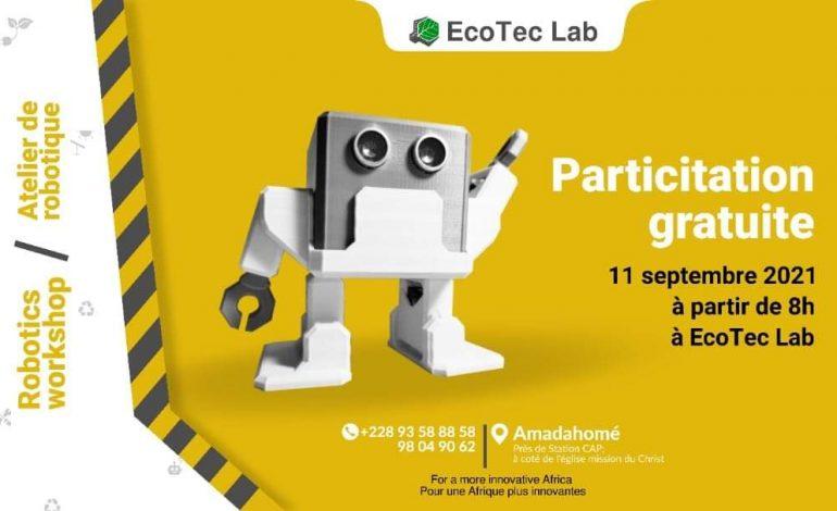 Togo : EcoTec Lab organise un atelier gratuit sur la robotique