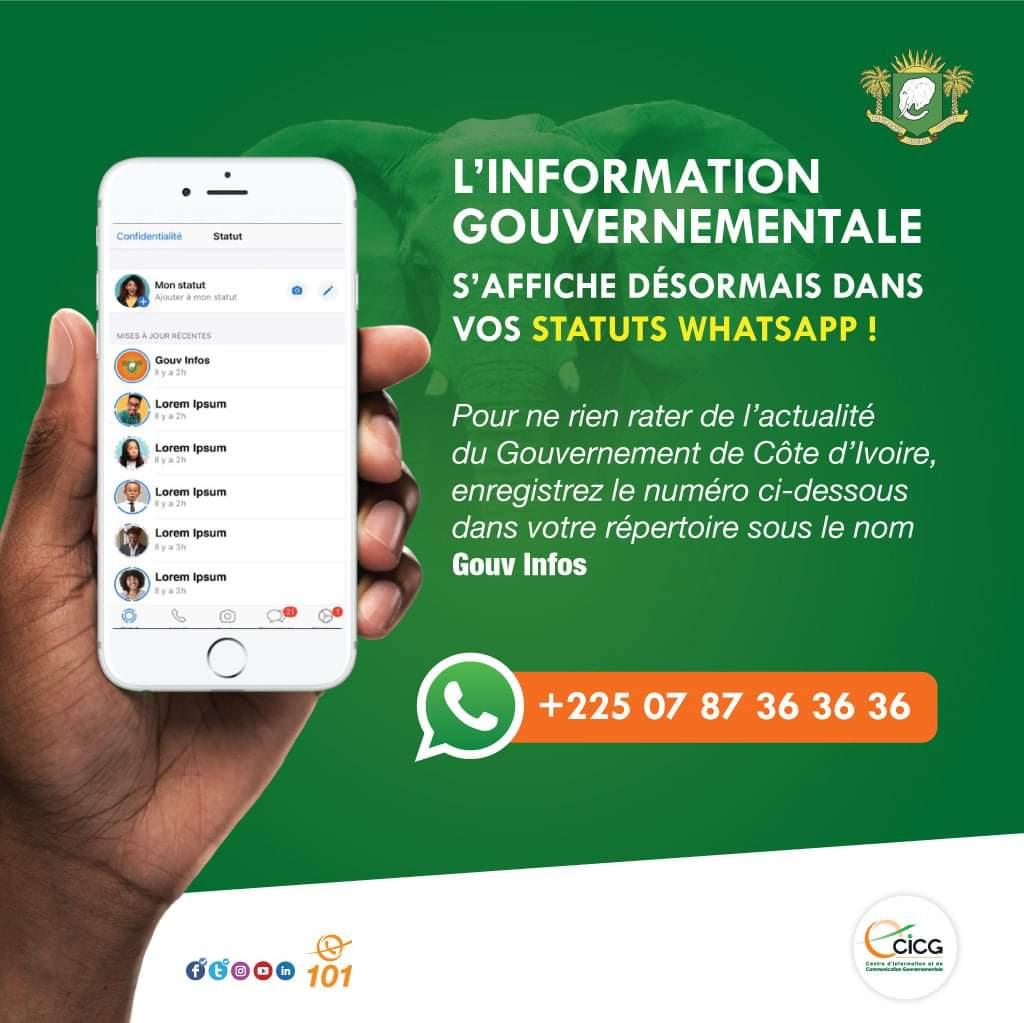 WhatsApp : bonne nouvelle pour les utilisateurs ivoiriens